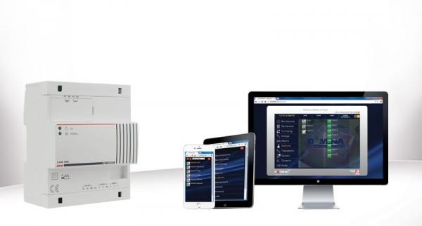 L'evoluzione nella supervisone dell'impianto domotico: il nuovo web server dominaplus