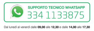 supporto tecnic whatapp